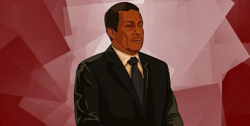 Ollanta Humala rotoscopiado