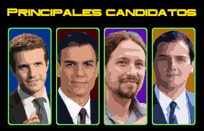principales candidatos
