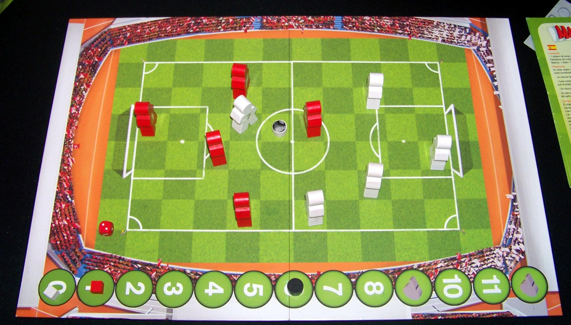 Despliegue del juego (mano a mano).