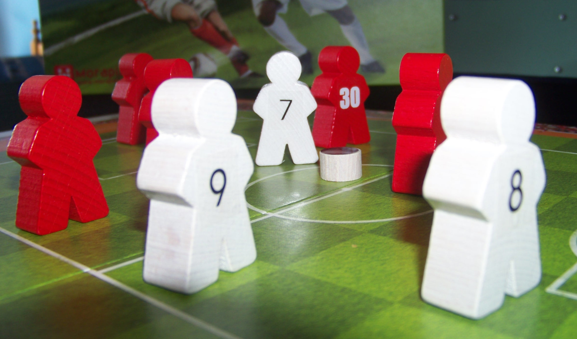 Vista en detalle del juego Mano a Mano.