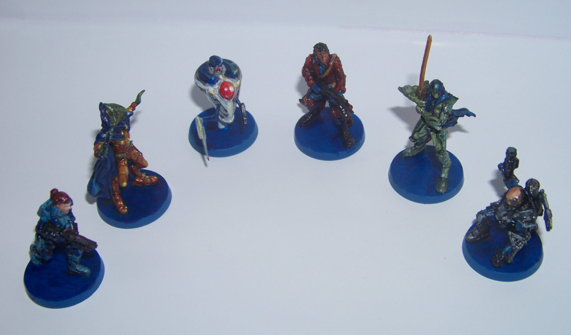 Star Saga - miniaturas mercenarias (círculo)