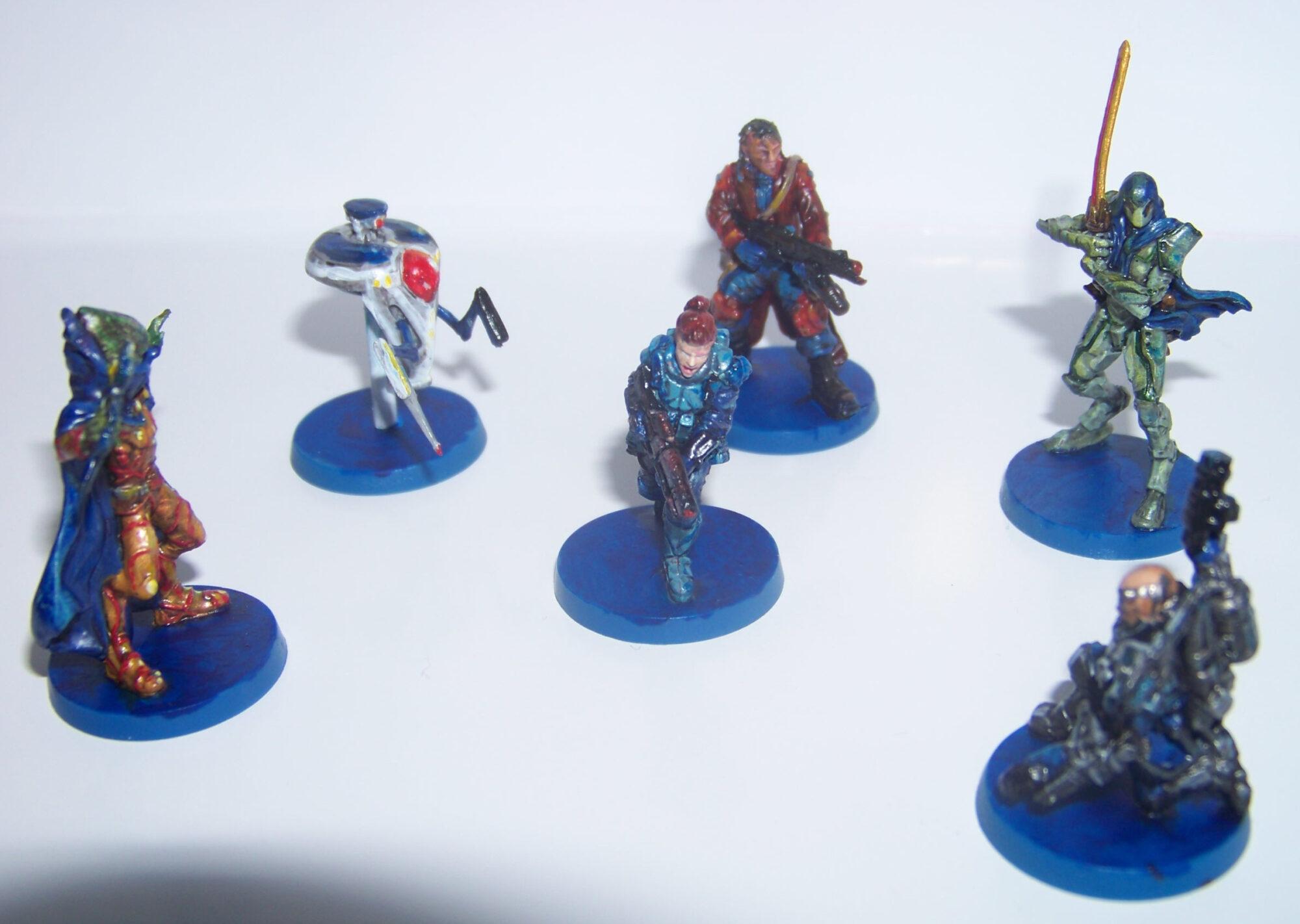 Star Saga - miniaturas mercenarias