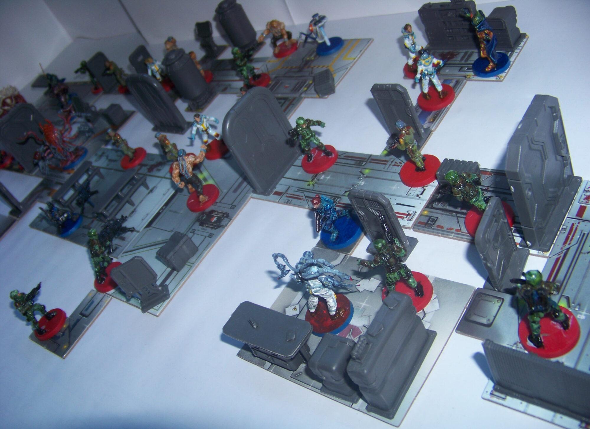 Star Saga - diorama (detalle)