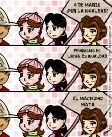 Tira 133 de Igualito - por la igualdad de género, feminismo, antimachismo