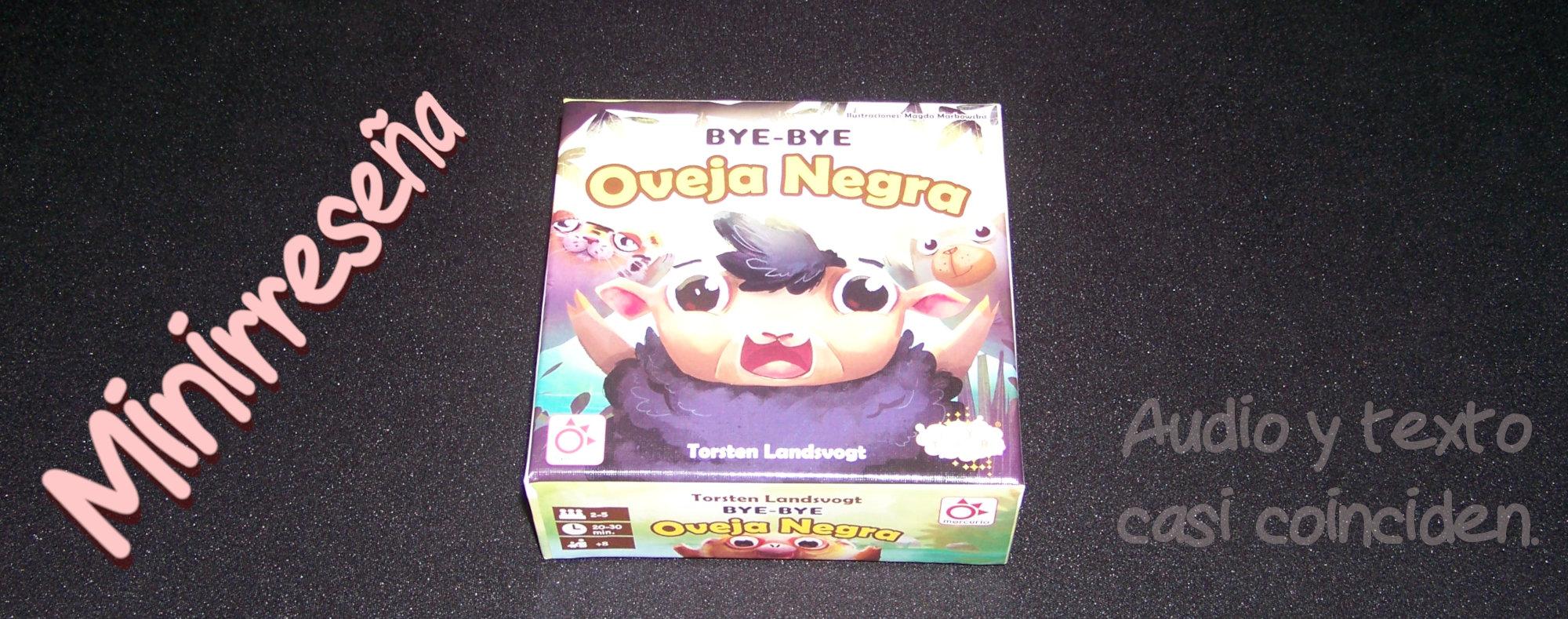 Bye-Bye Oveja Negra - Carátula y título