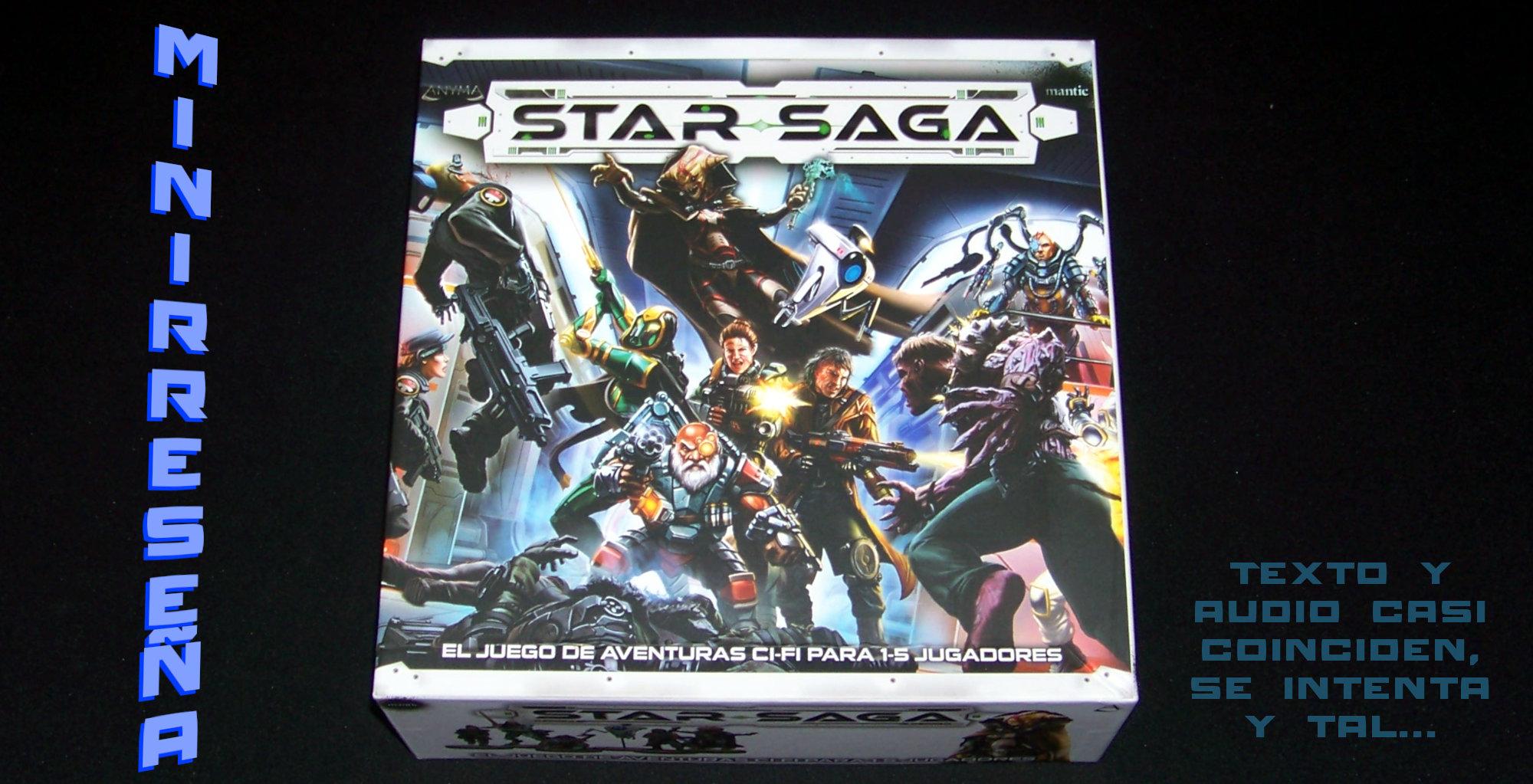 Star Saga - Carátula y título