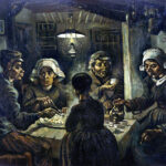 «Comedores de papas» de Vincent van Gogh