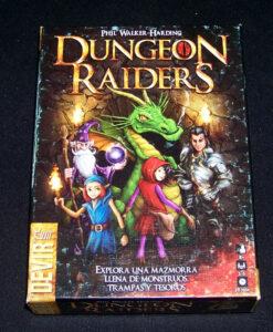Juego de mesa Dungeon Raiders - Portada