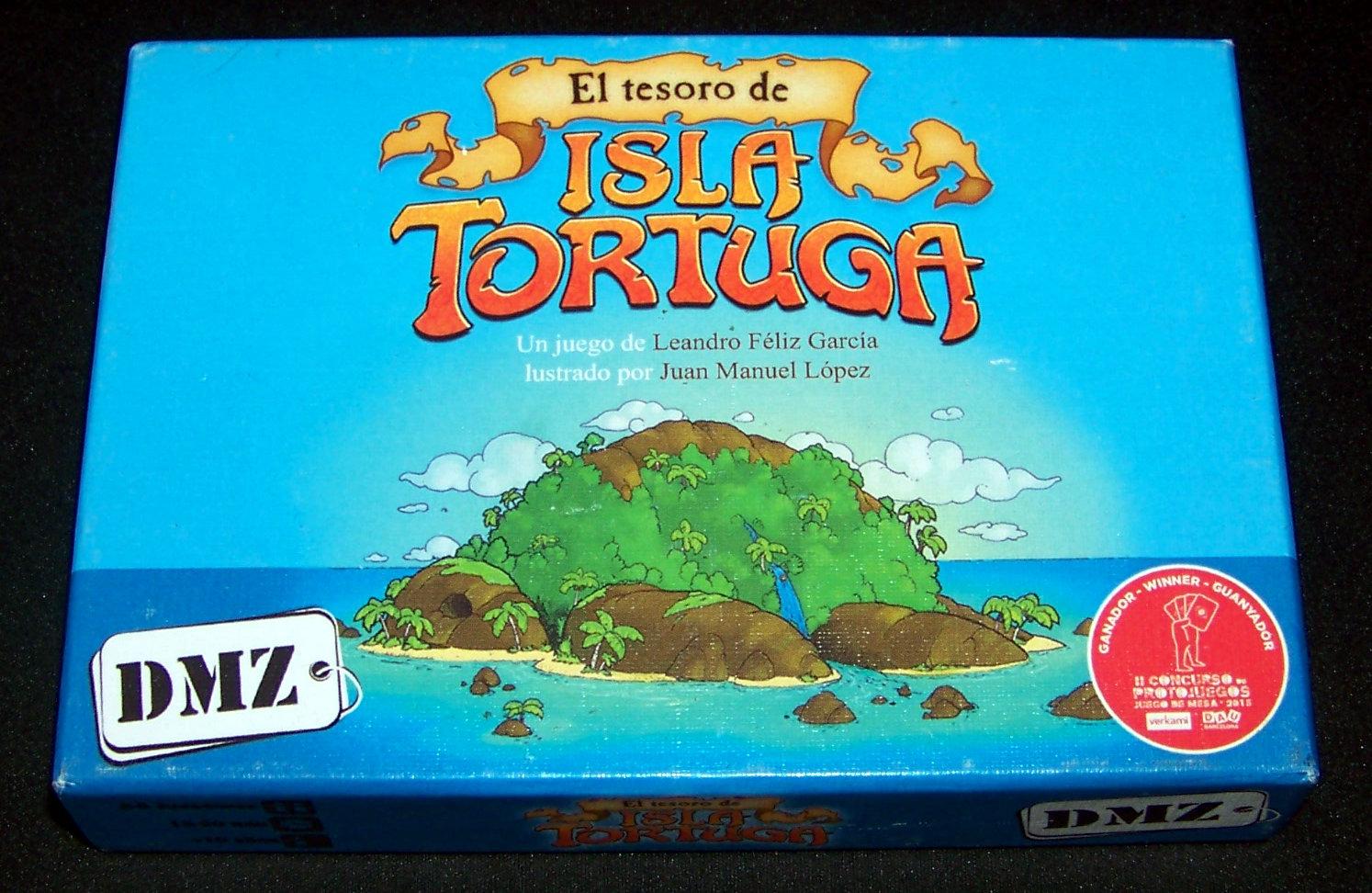 Juego de mesa El Tesoro de la Isla Tortuga - Portada