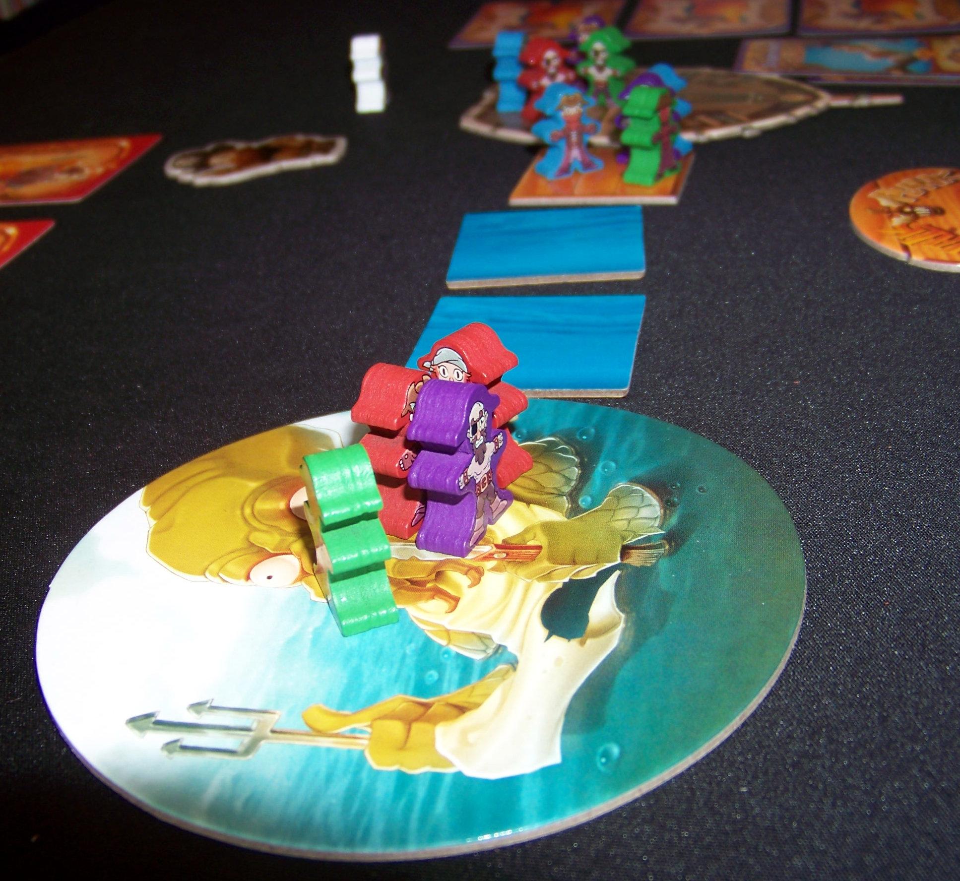 Juego de mesa Piratas al agua - detalle 2.