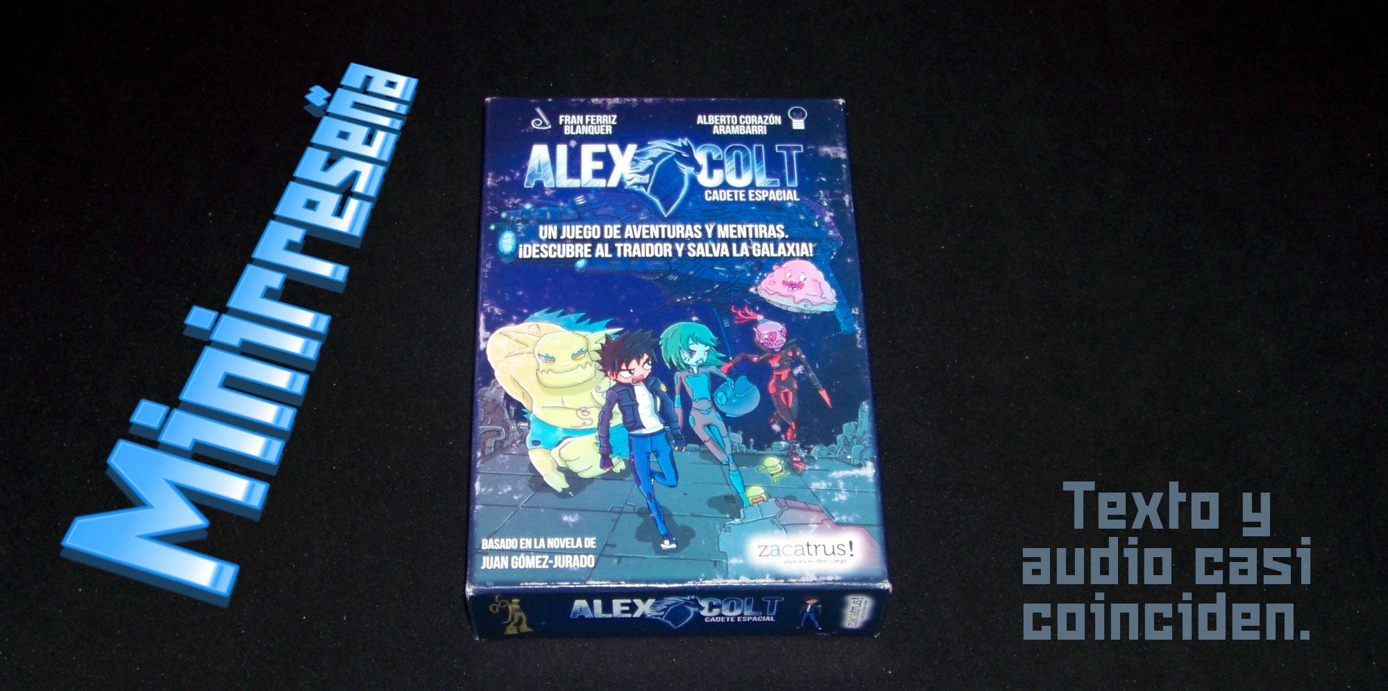 Juego de mesa Alex Colt - crátula
