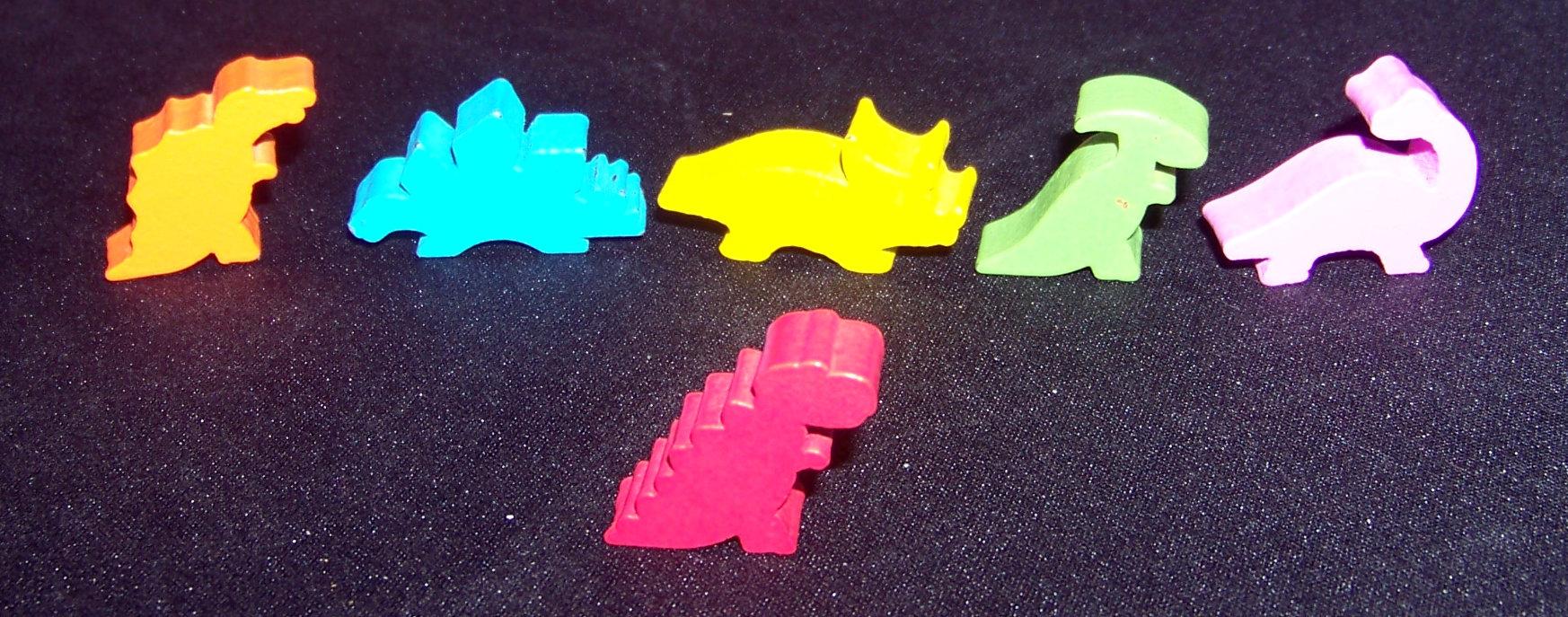 Juego de mesa Draftosaurus - dinos
