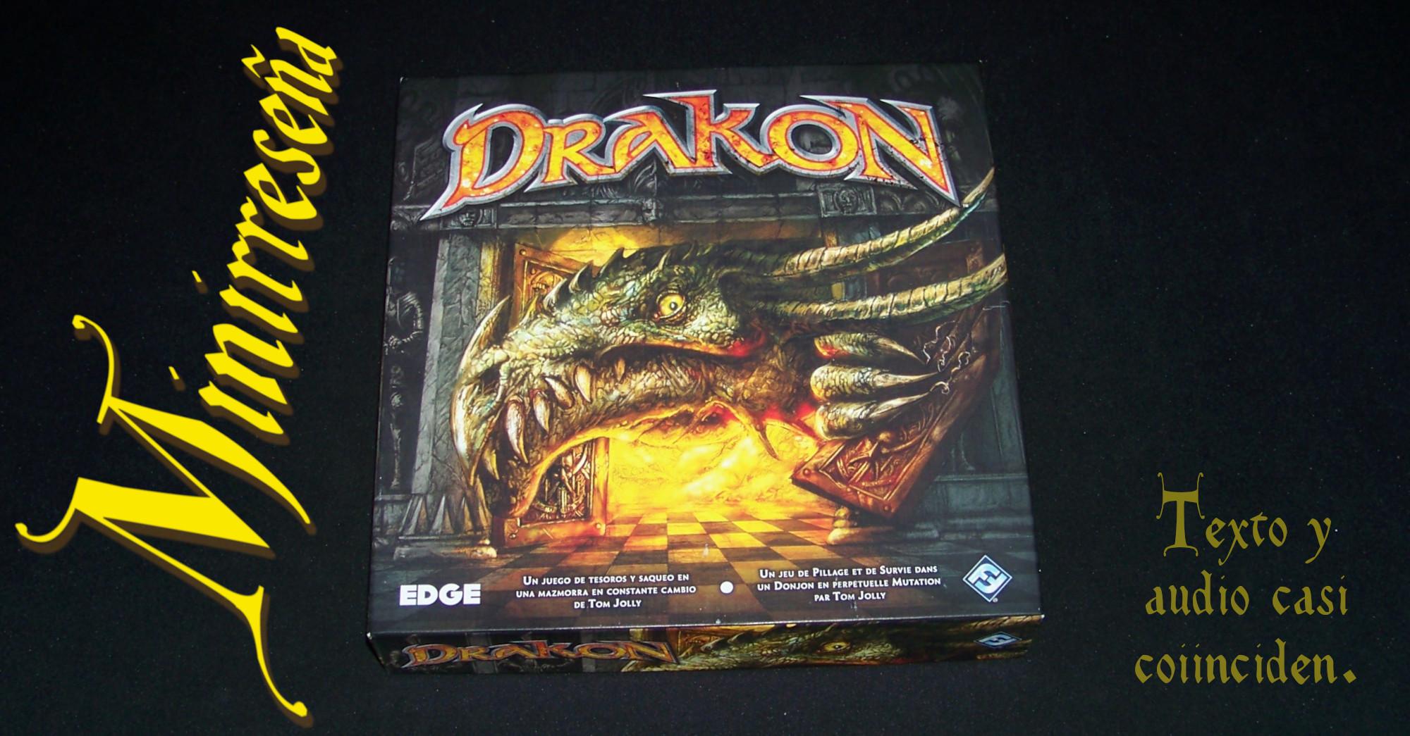 Juego de mesa Drakon - carátula