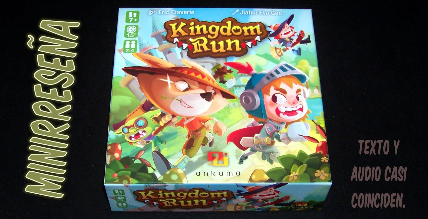 Juego de mesa Kingdom Run - Carátula