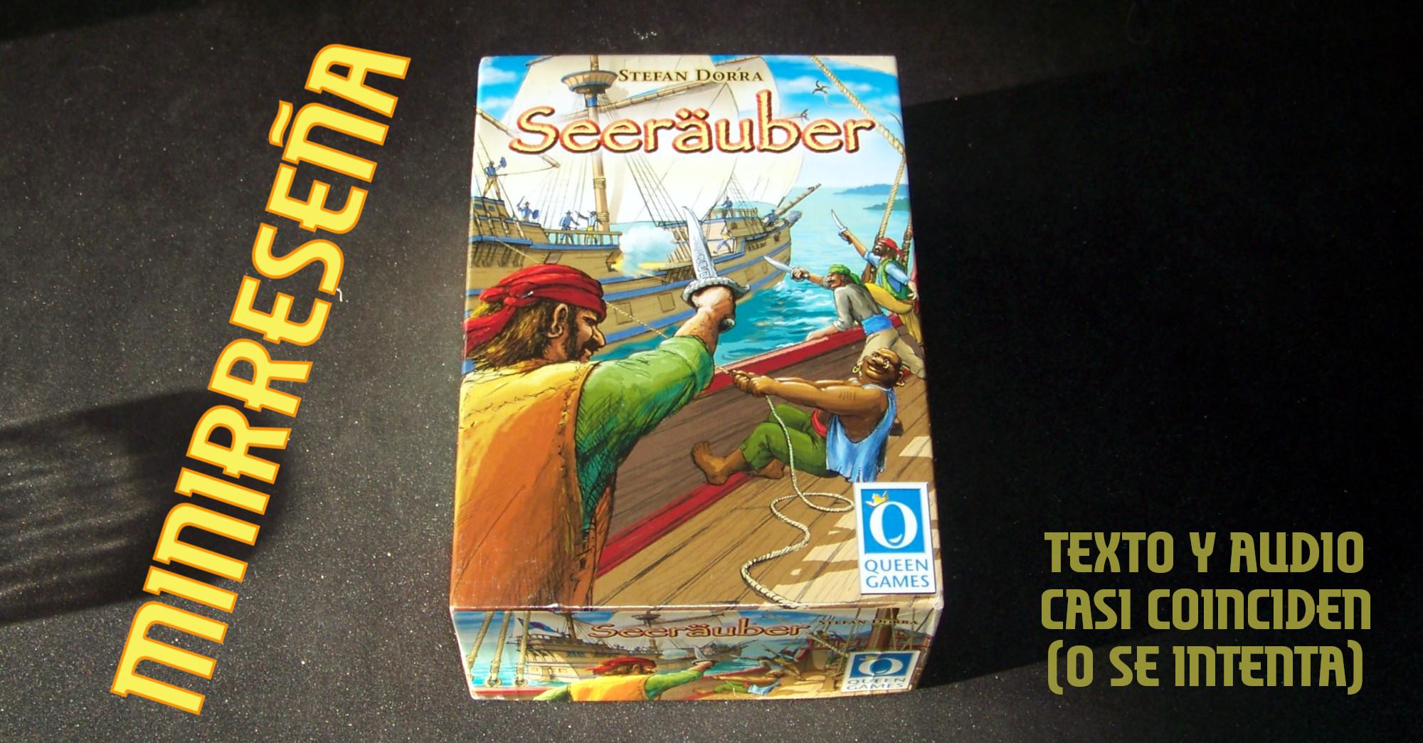 Juego de mesa Seeräuber (Buccaneer) - Carátula