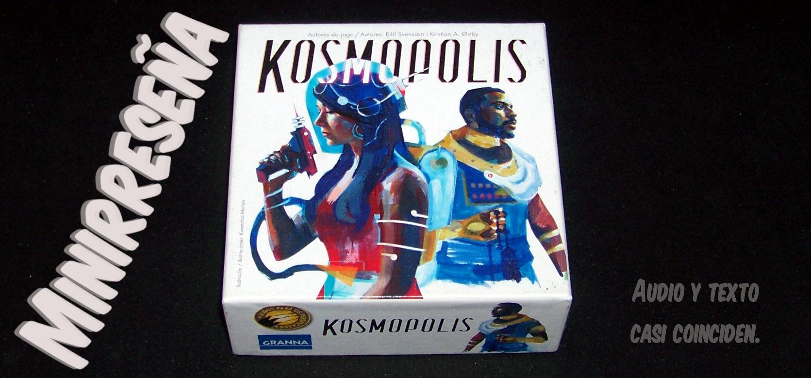 Juego de mesa Kosmopolis - carátula