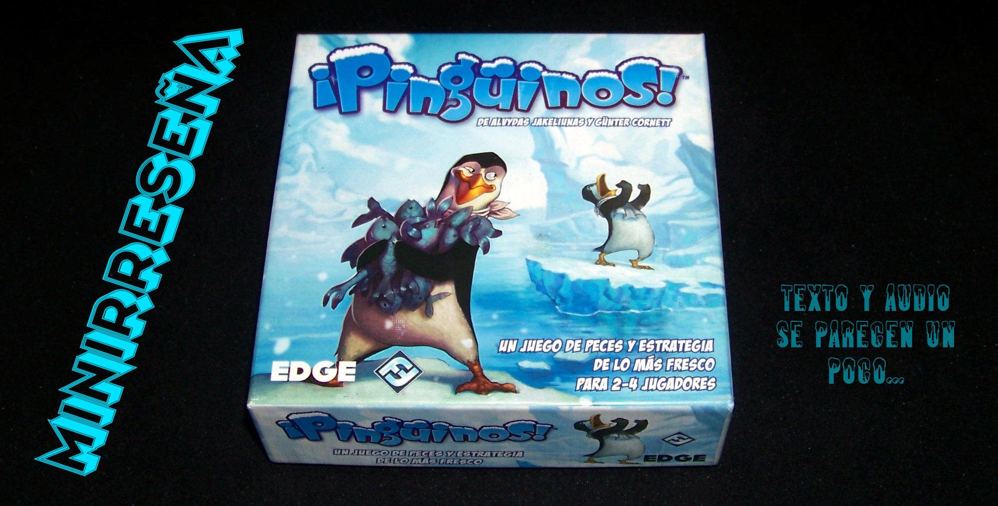Juego de mesa Pingüinios - carátula