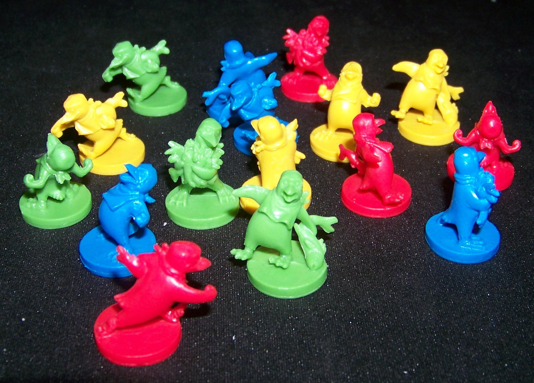 Juego de mesa Pingüinios - detalle de miniaturas