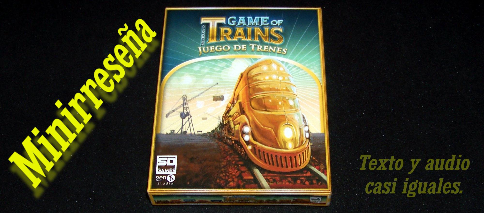 Juego de mesa Game of Trains - carátula