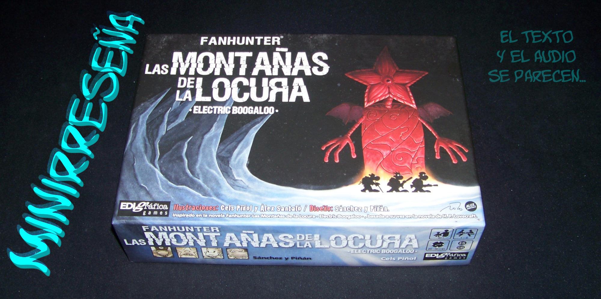 Juego de mesa Fanhunter Las Montañas de la Locura - portada