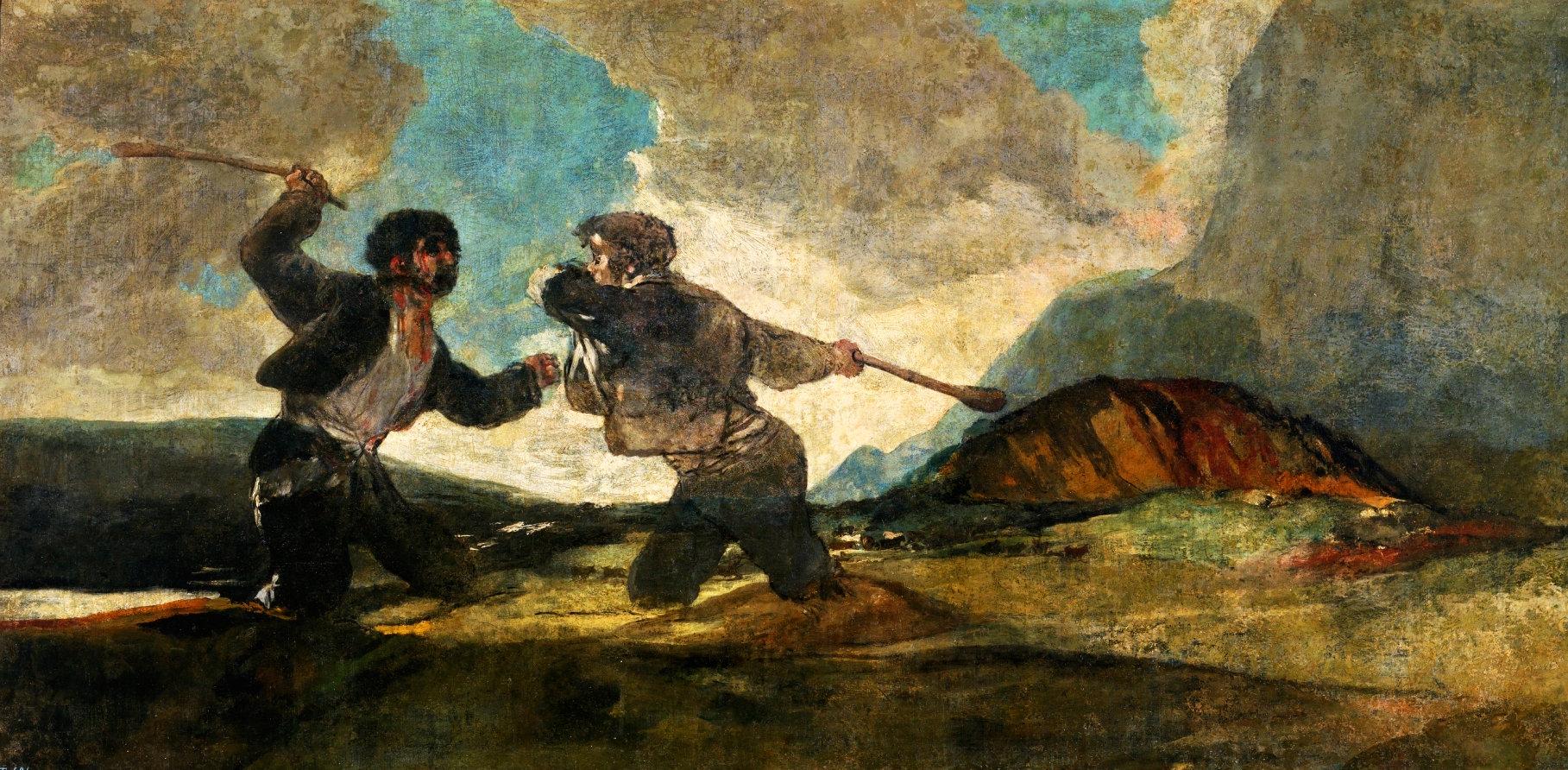 Duelo a Garrotazos de Goya