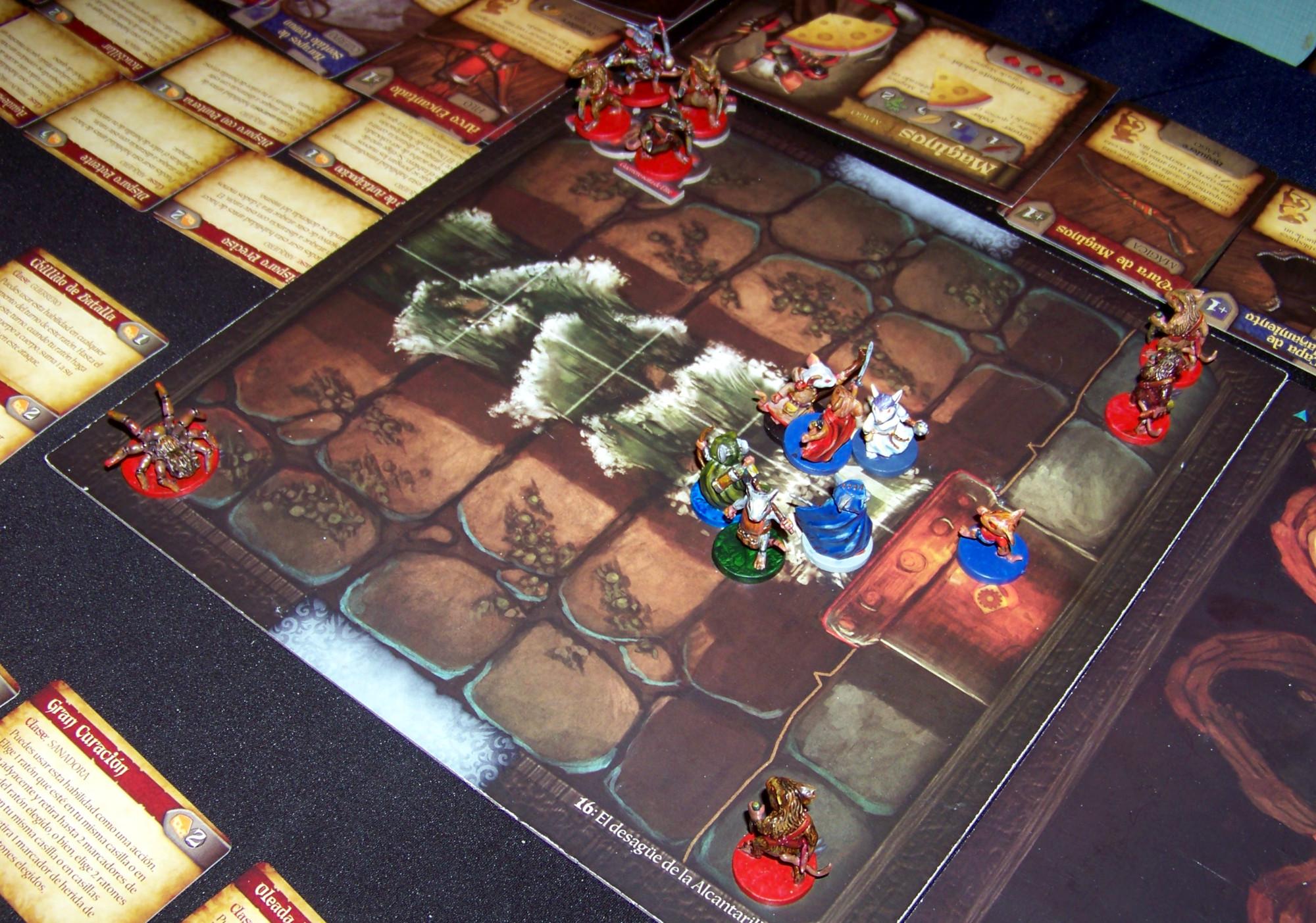 Juego de mesa De Ratones y Magia - partida en curso (2)