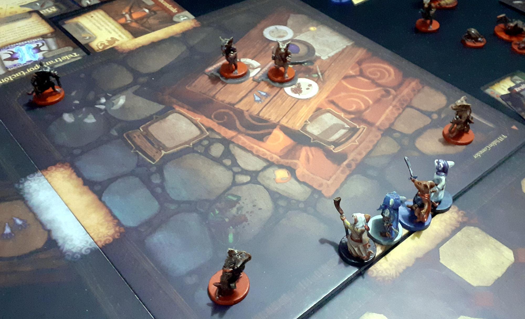 Juego de mesa De Ratones y Magia - detalle de partida (3)