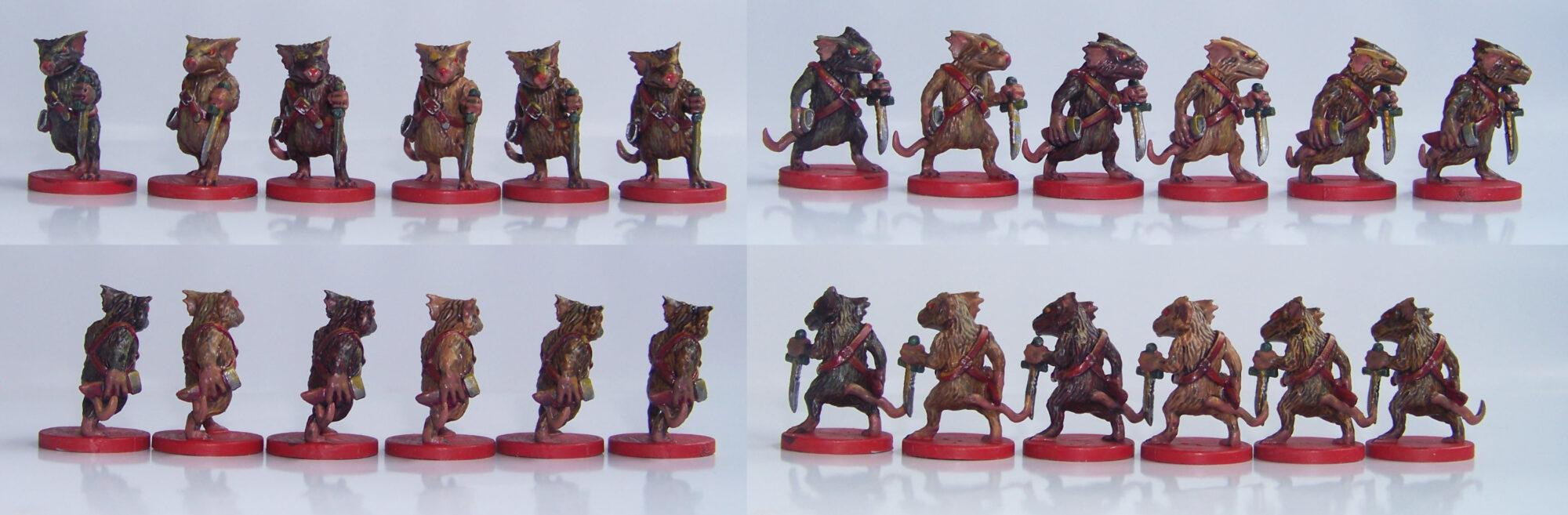 De ratones y Magia - miniaturas - Ratas