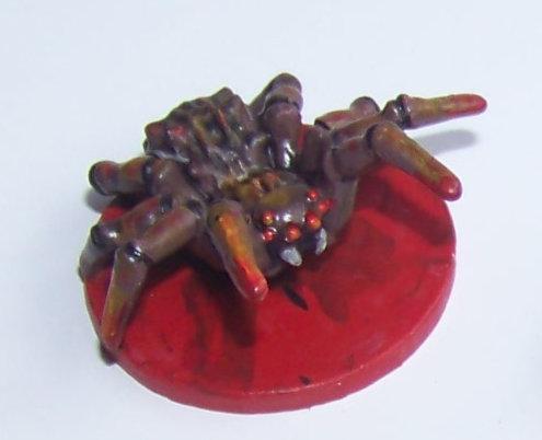 De ratones y Magia - miniaturas - araña
