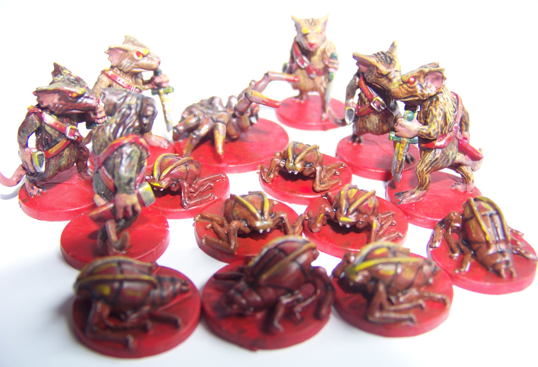 De ratones y Magia - miniaturas - enemigos 2