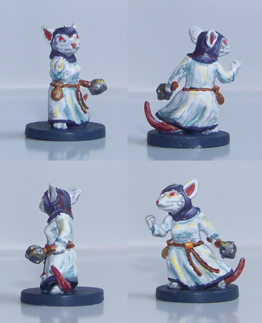 De ratones y Magia - miniaturas - Tilda 2