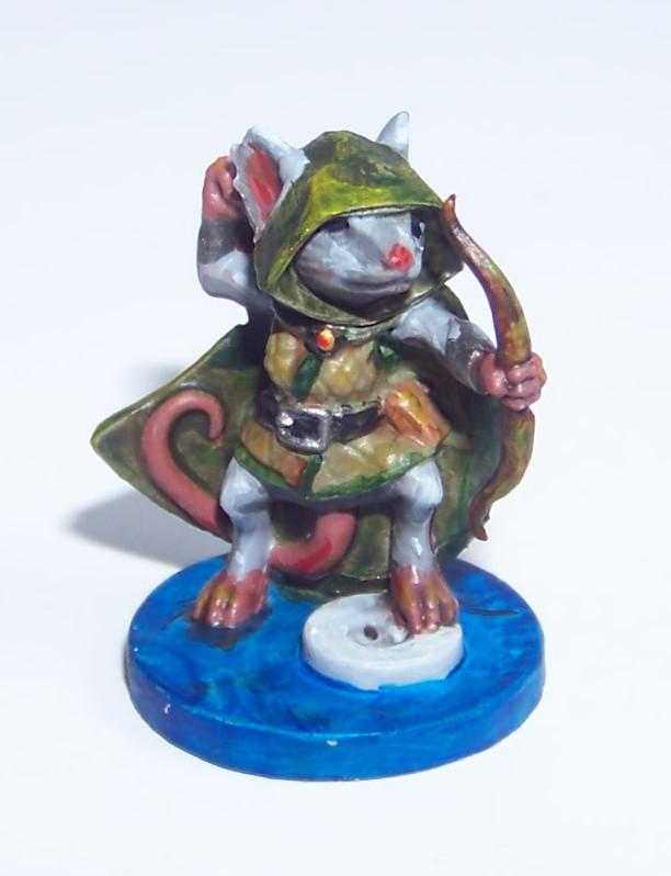 De ratones y Magia - miniaturas - Lily 1