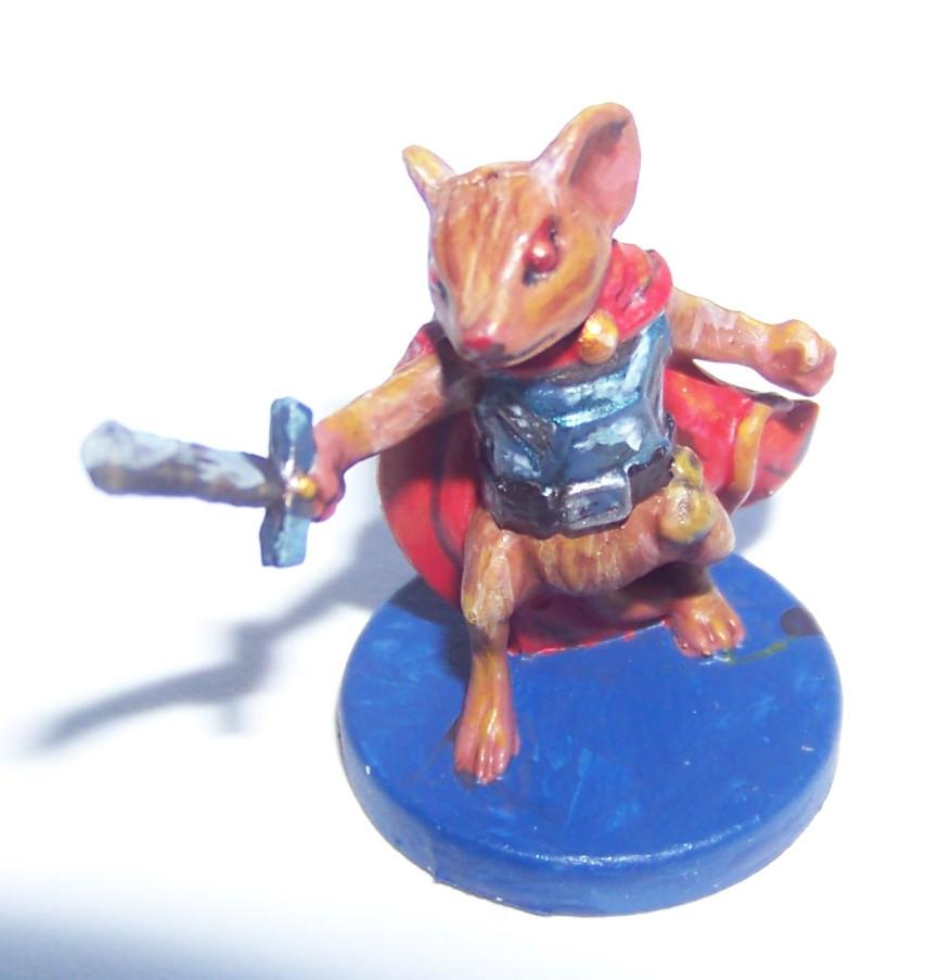 De ratones y Magia - miniaturas - collin