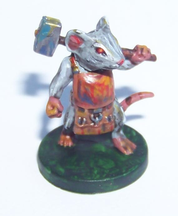 De ratones y Magia - miniaturas - Nez