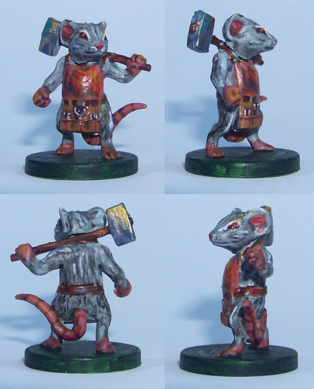 De ratones y Magia - miniaturas - Nez 2
