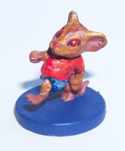 De ratones y Magia - miniaturas - crumbles