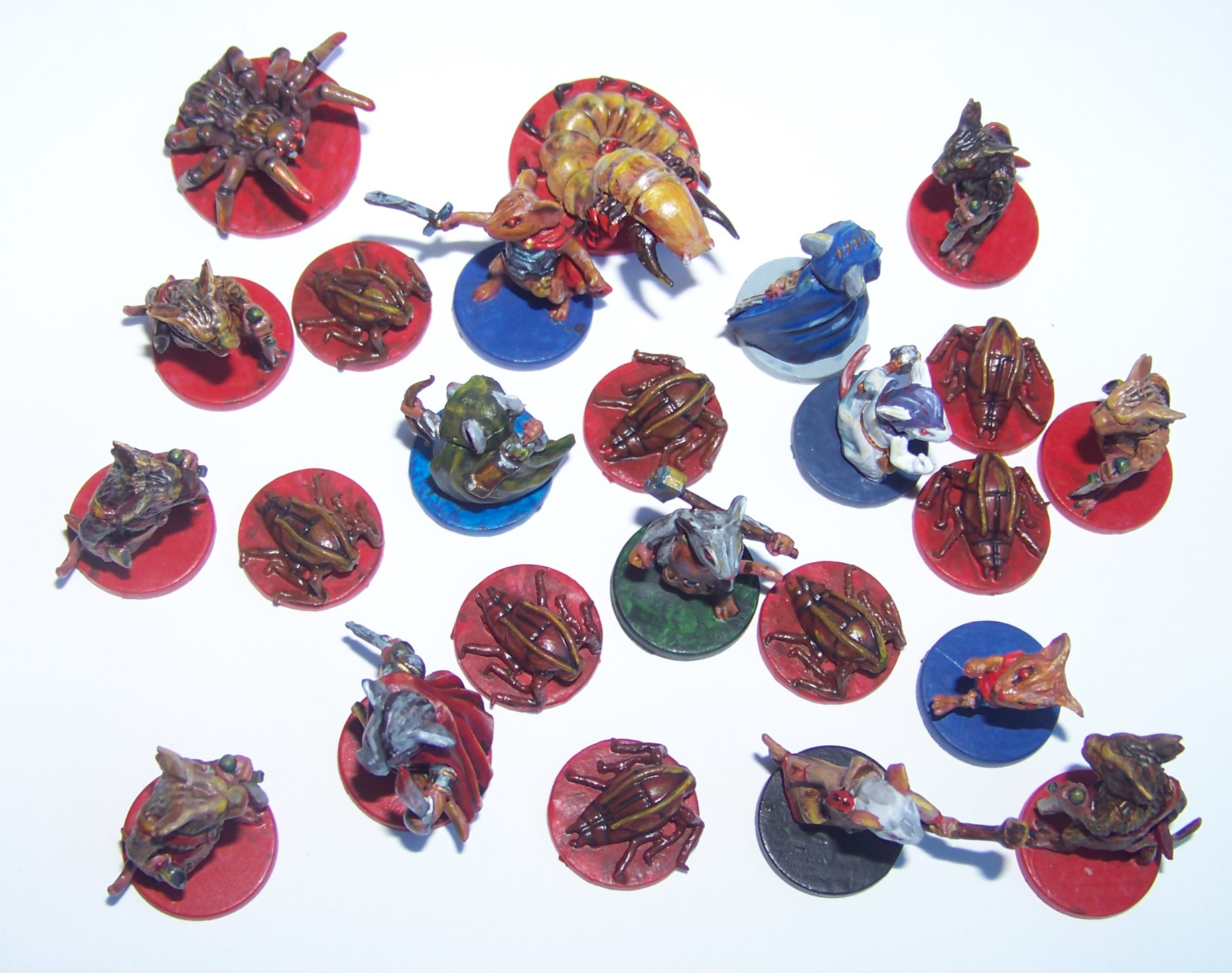 De ratones y Magia - miniaturas - ratones y enemigos 2