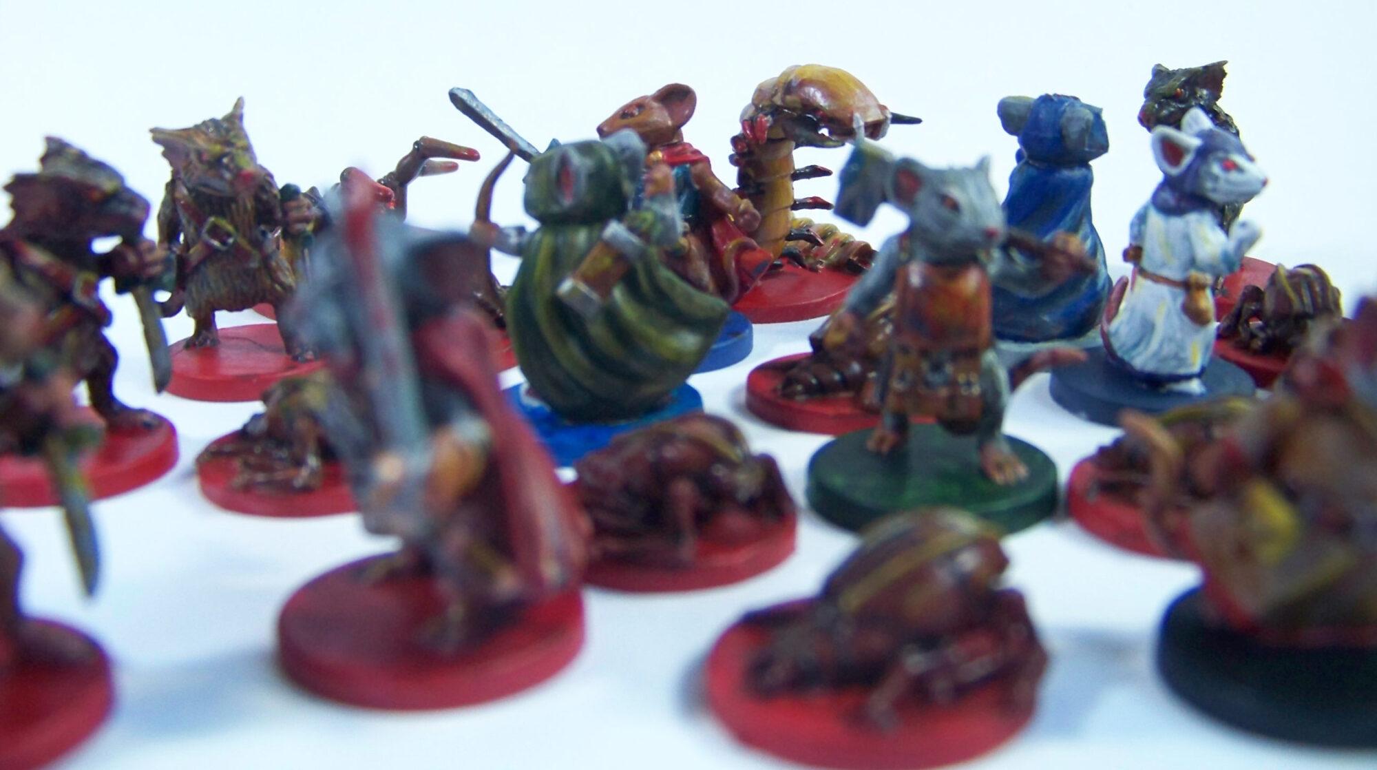 De ratones y Magia - miniaturas - ratones y enemigos 3