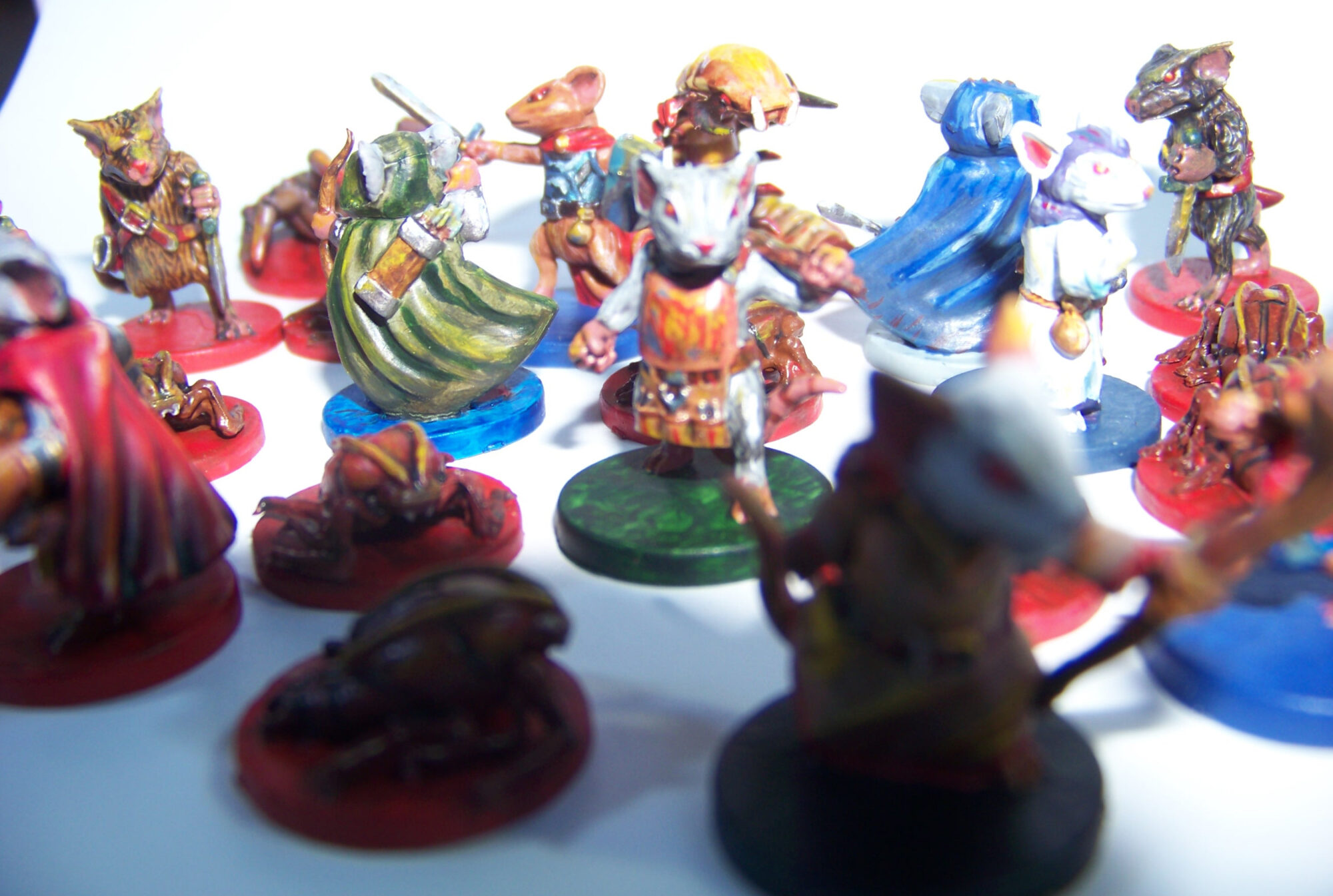 De ratones y Magia - miniaturas - ratones y enemigos 4