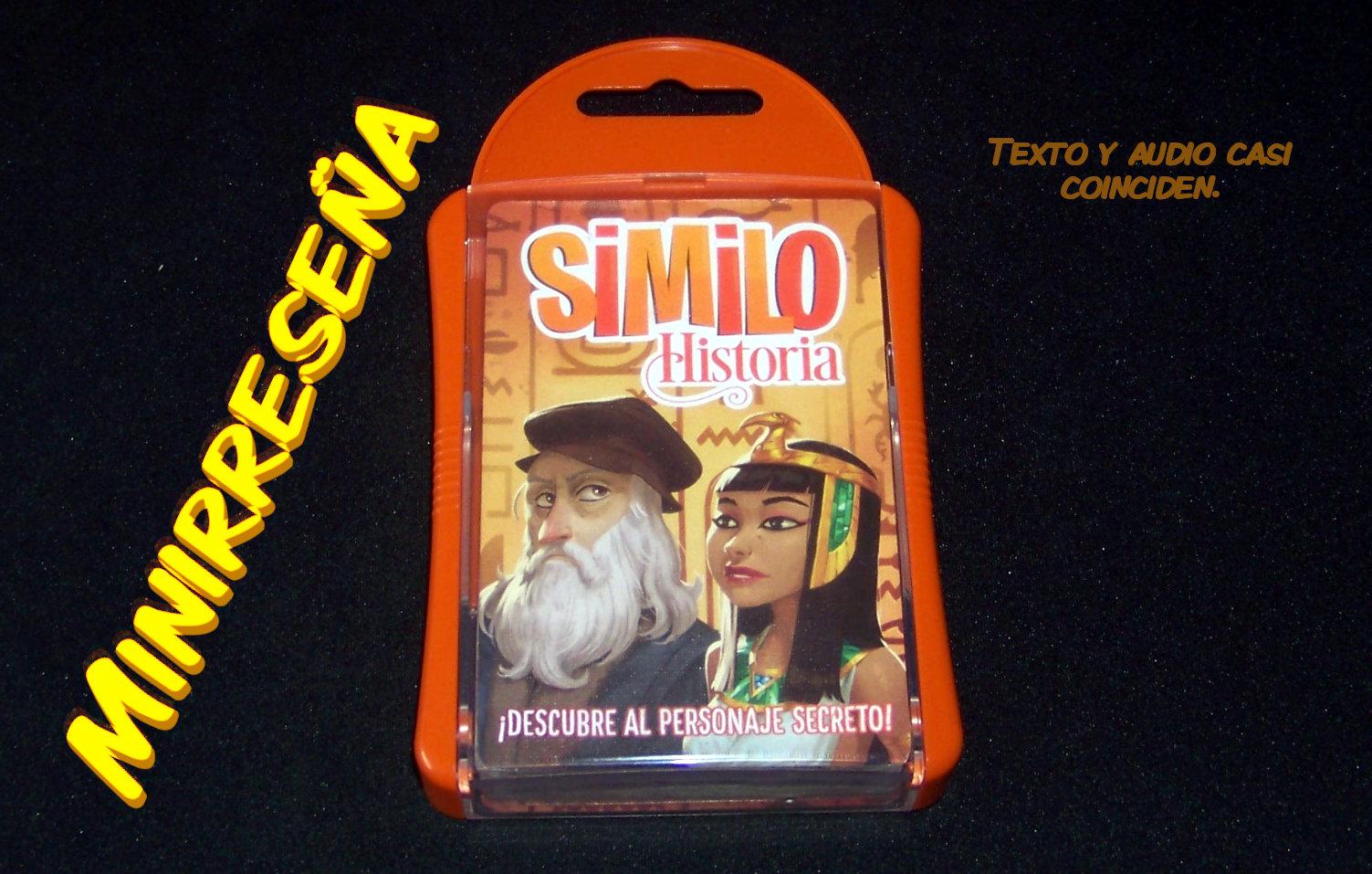 Juego de mesa Similo - carátula