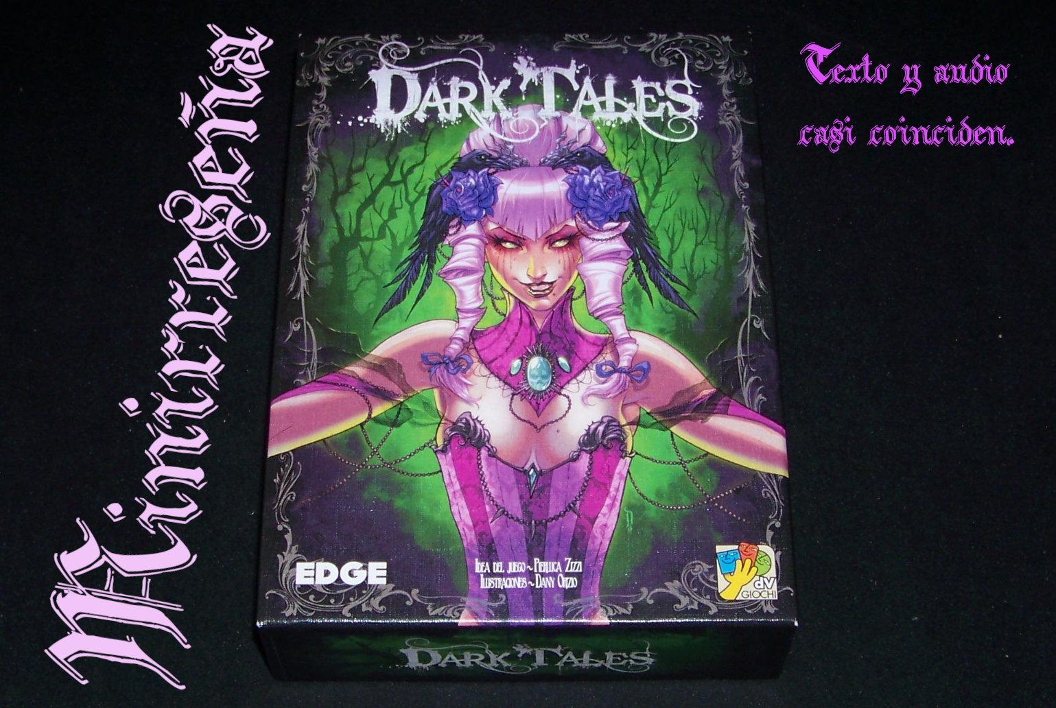 Juego de mesa Dark Tales - carátula