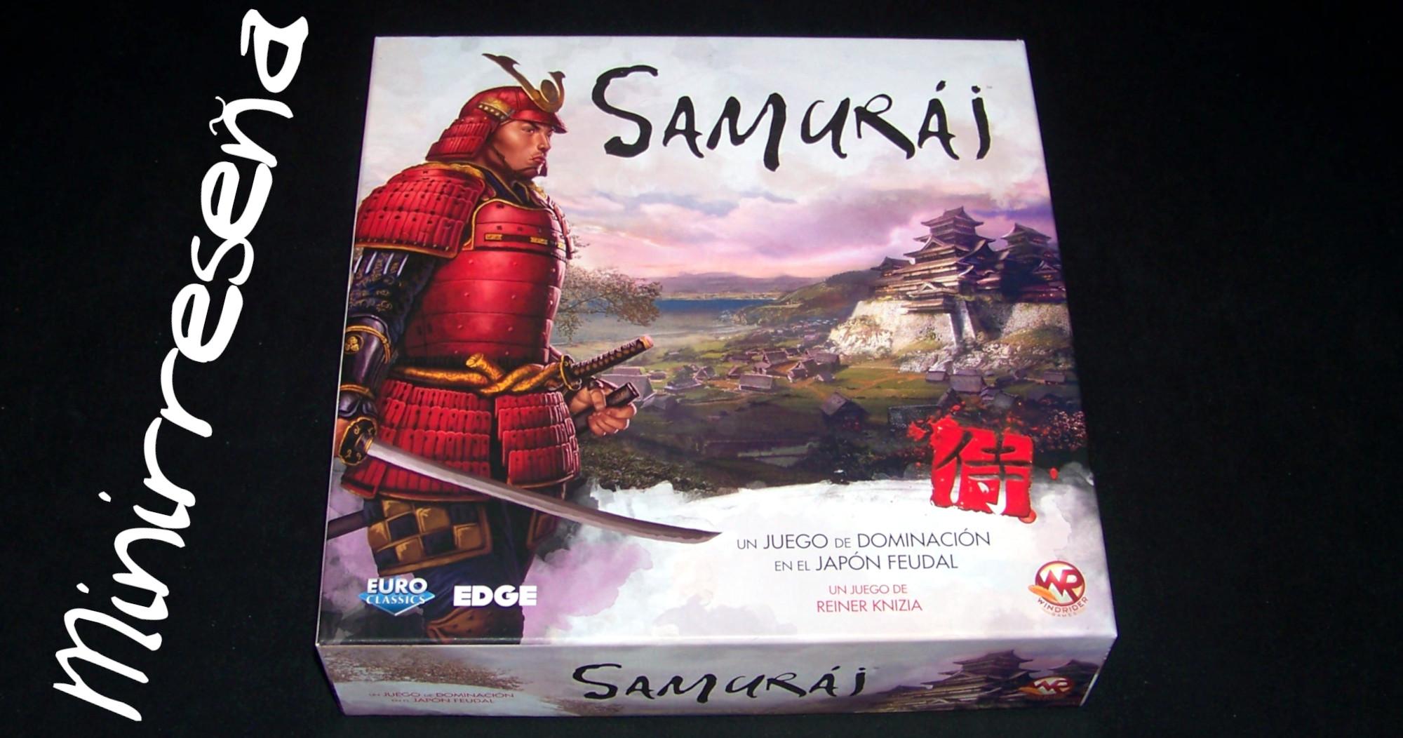 Juego de mesa Samurái - carátula (sin audio)