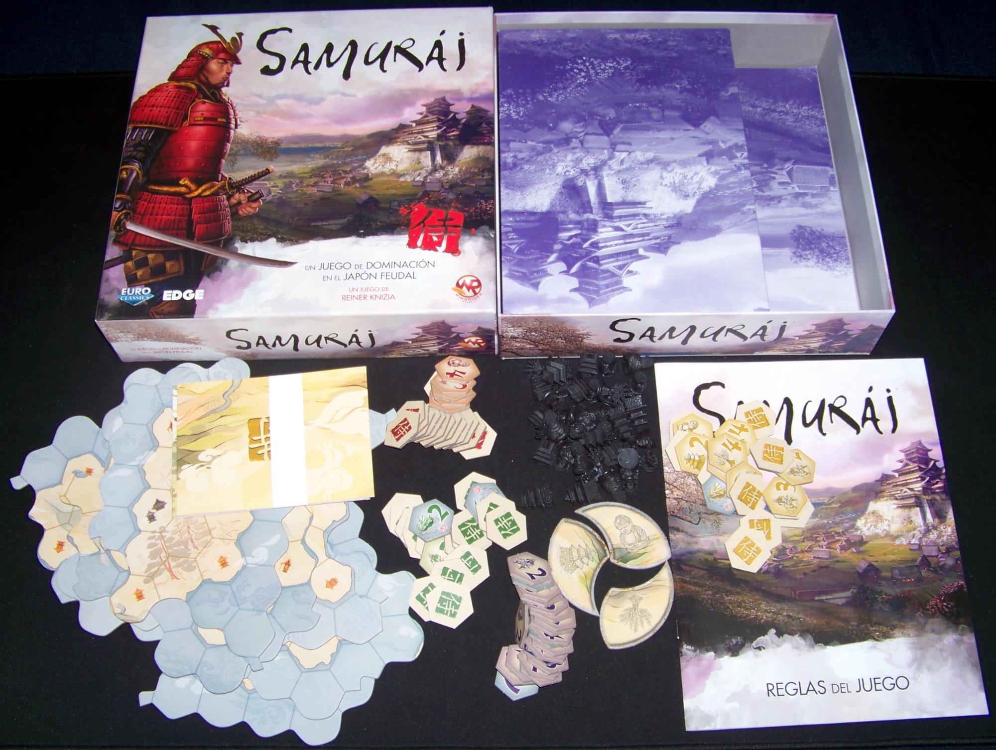Juego de mesa Samurái - contenido