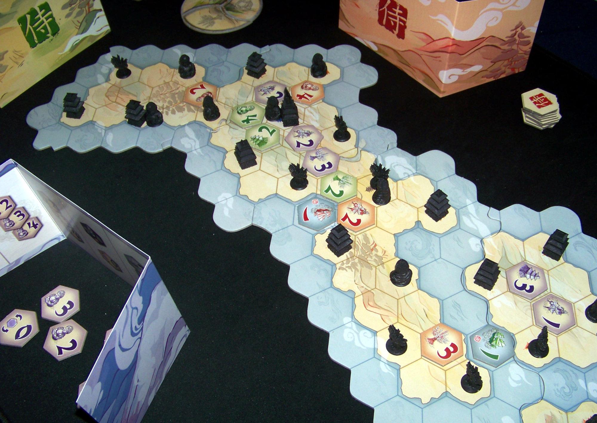 Juego de mesa Samurái - ejemplo (0)