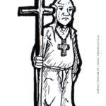 Inktober 2019 día 19 - Jerónimo (Zid)